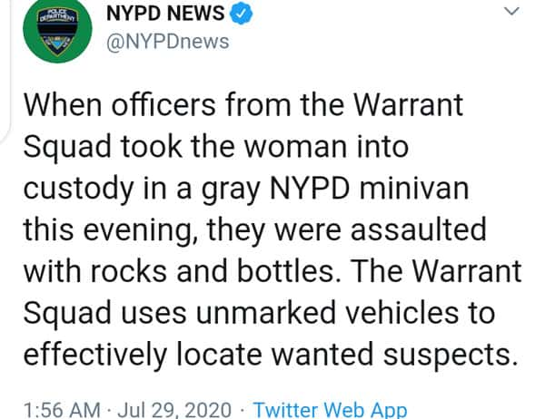 Viral Video: NYPD Officers Dragging Protester In Manhattan, says it's just an arrest and not kidnap