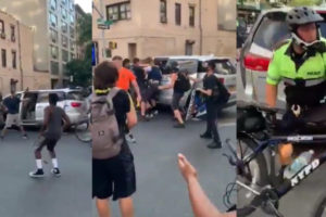 Viral Video Shows NYPD Warrant Squad Officers Dragging An Anti-Protester To An Unmarked Van In Manhattan