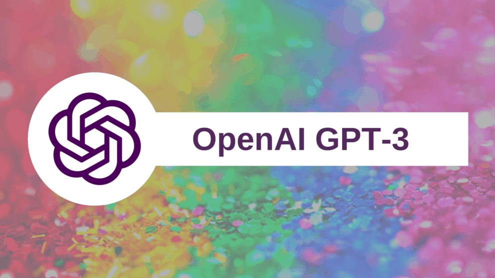 OpenAI GPT-3 Text Generator Elon Musk AI