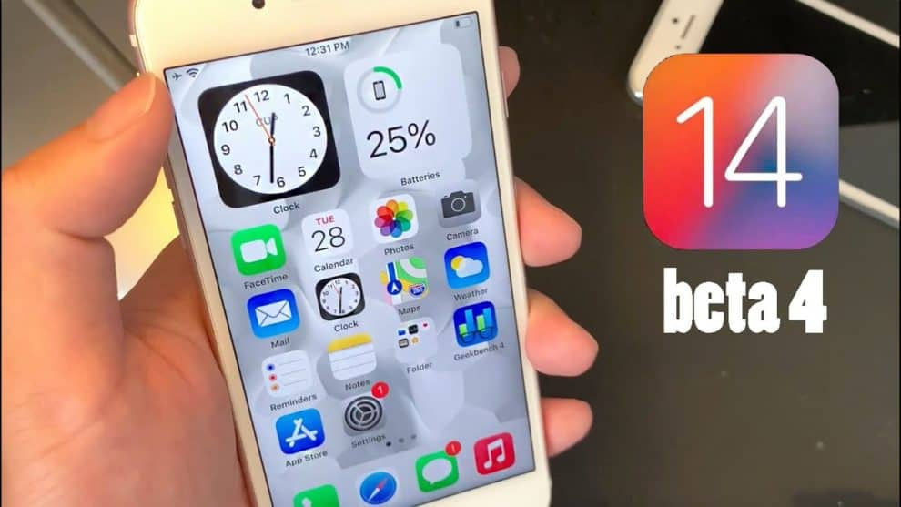 iOS 14 Beta 4 Download Release Date