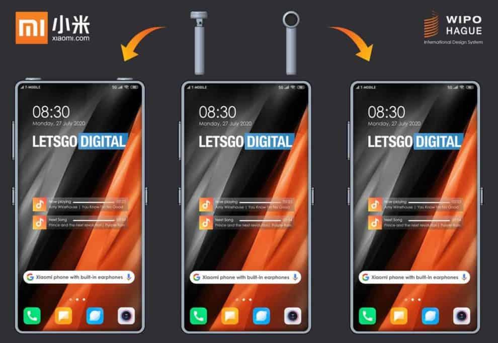 Xiaomi Smartphone Built-In Wireless Headphones