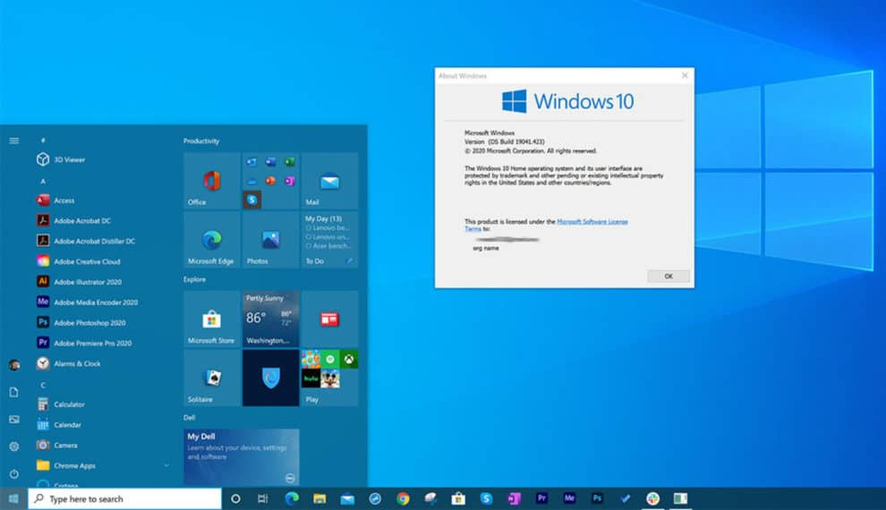 Get Windows 10 New Start Menu