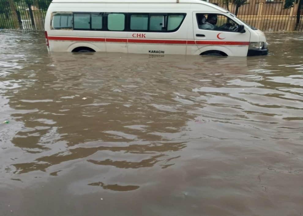 Karachi rain videos