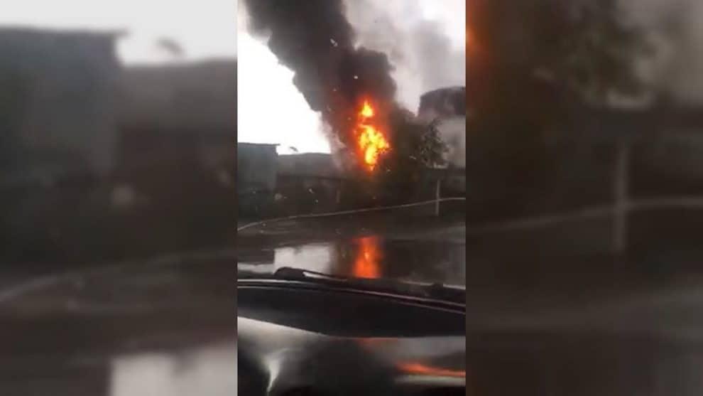 Achinsk fire power plant russia