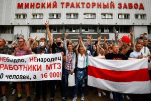 Lukashenko Belarus Labor Strike Movement