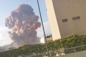 Beirut Lebanon Explosion Blast
