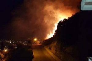 Beqaa valley Fire Mashghara Lebanon