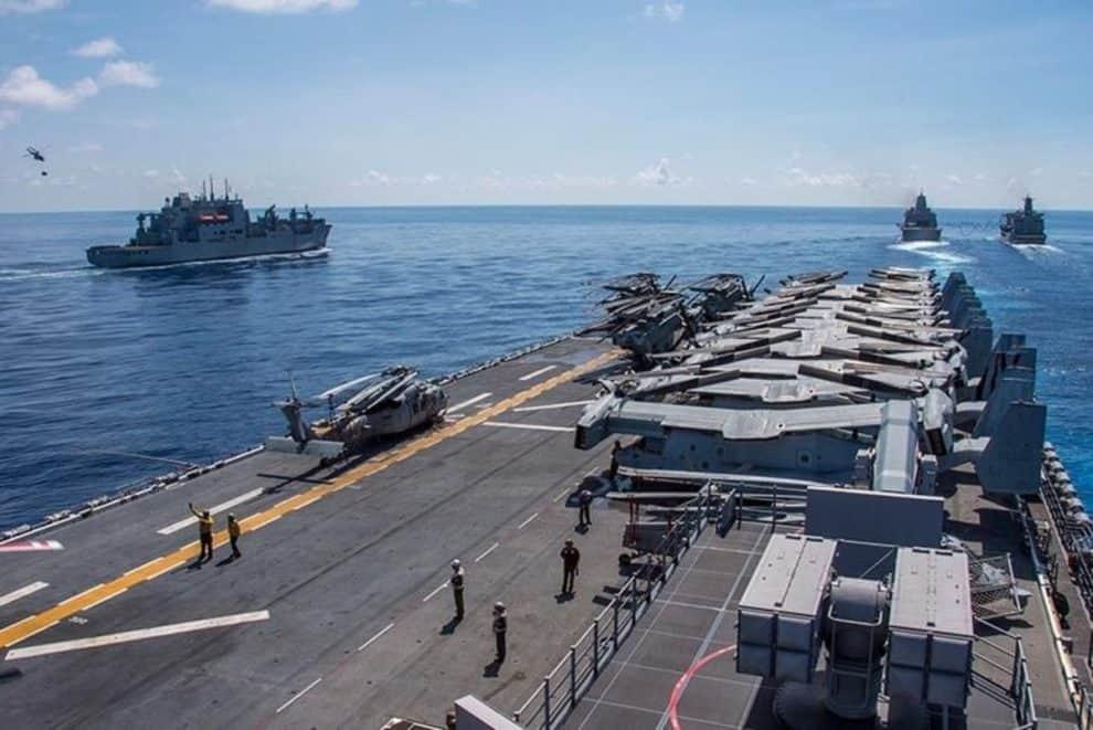 U.S South China Sea presidential election