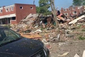 Baltimore explosion reisterstown road