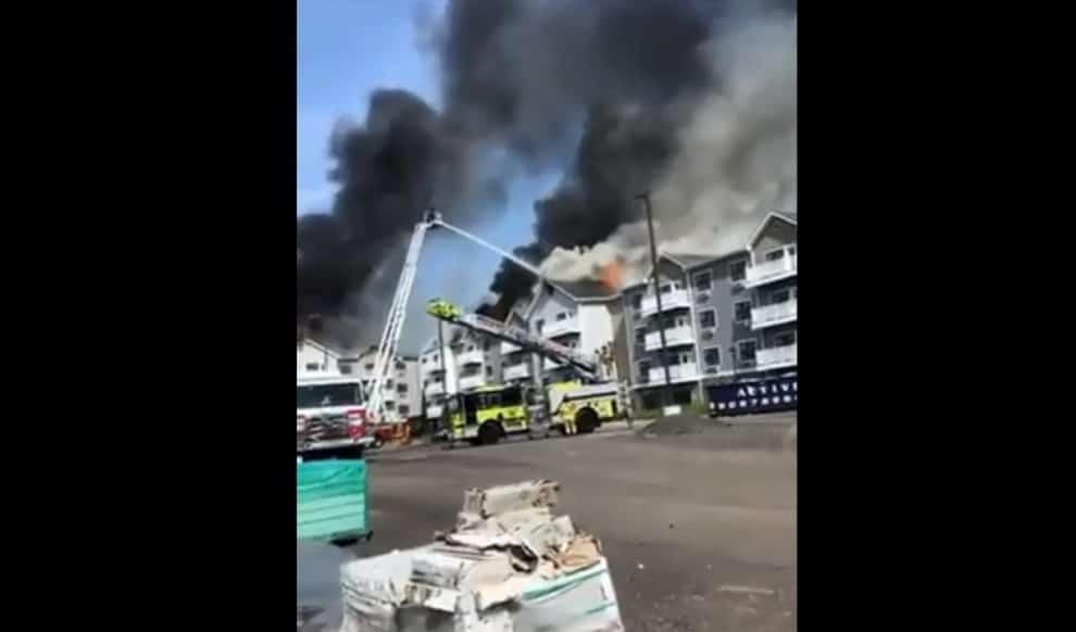 Fire New Jersey Somerville