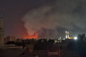 Al-Shajarah fire ammunition factory explosion Khartoum Sudan