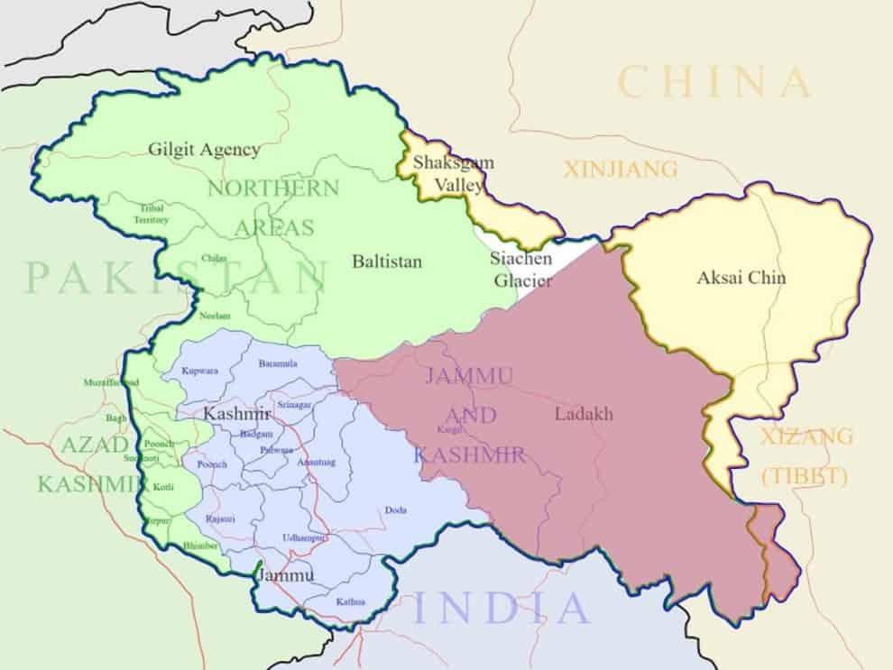 india pakistan kashmir issue