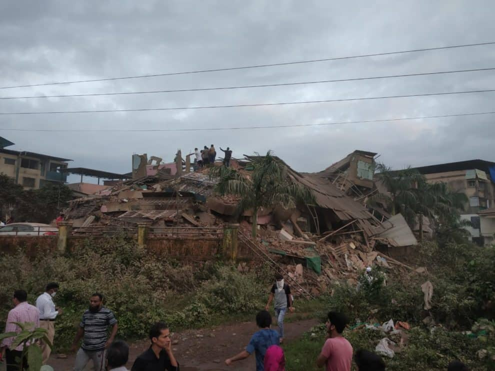 Mahad Building Collapsed Maharashtra