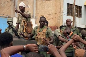 West Africa Mali Military Mutiny