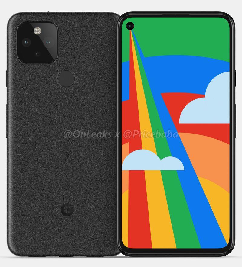 google pixel 5 renders