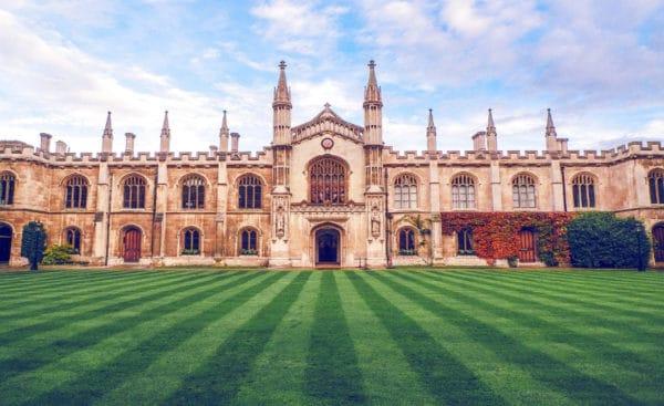 top 10 best universities in the world in 2020: Cambridge