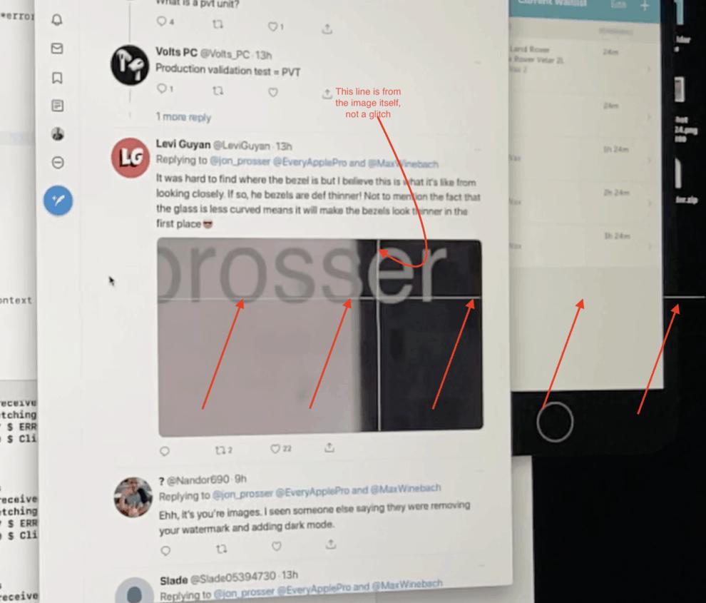 2020 iMac display glitch lines on screen AMD Radeon Pro 5700 XT