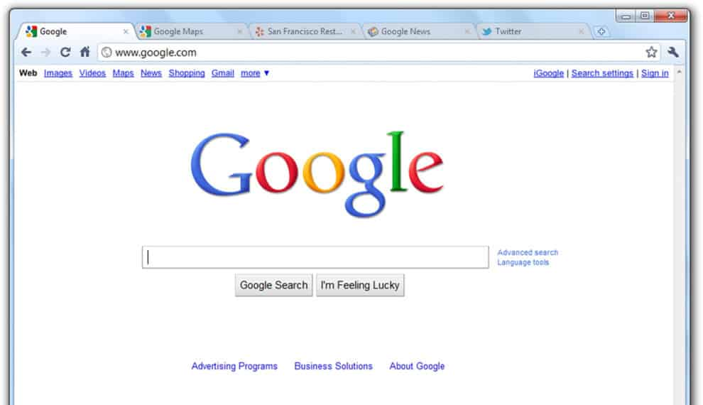 Minimize Maximize And Exit Google Buttons Missing