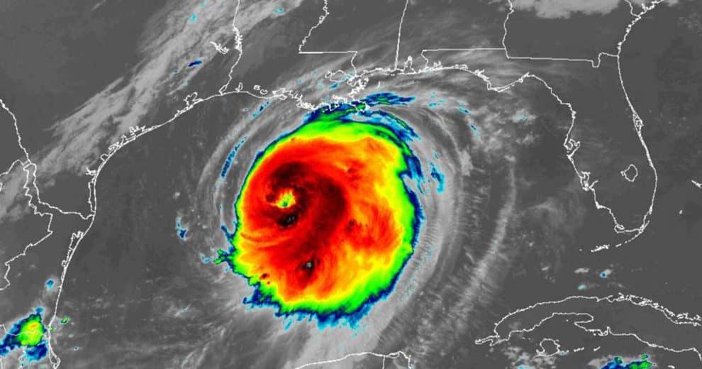 Hurricane Laura Category 4 Category 5