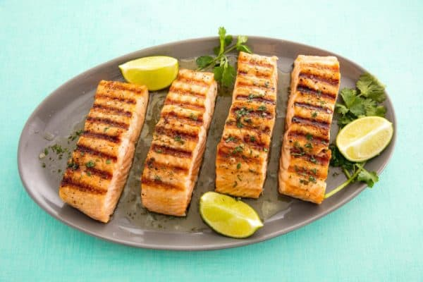 10 High Protein, Low Carb Foods For Weight Loss: Salmon