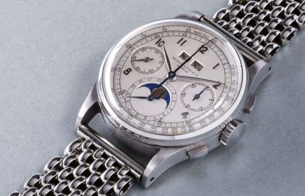 Top 10 Most Expensive Watches In The World: Patek Philippe Ref. 1518
