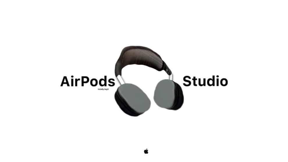 AirPods Studio Sport design leaked photo