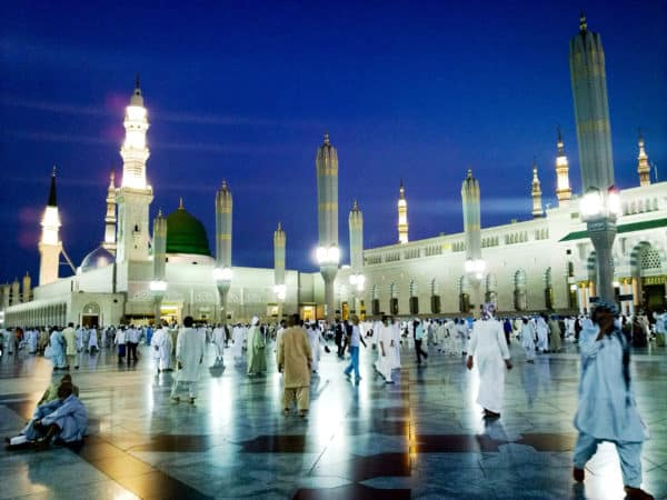 Top 10 Biggest Mosques In The World: Al-Masjid an-Nabawi