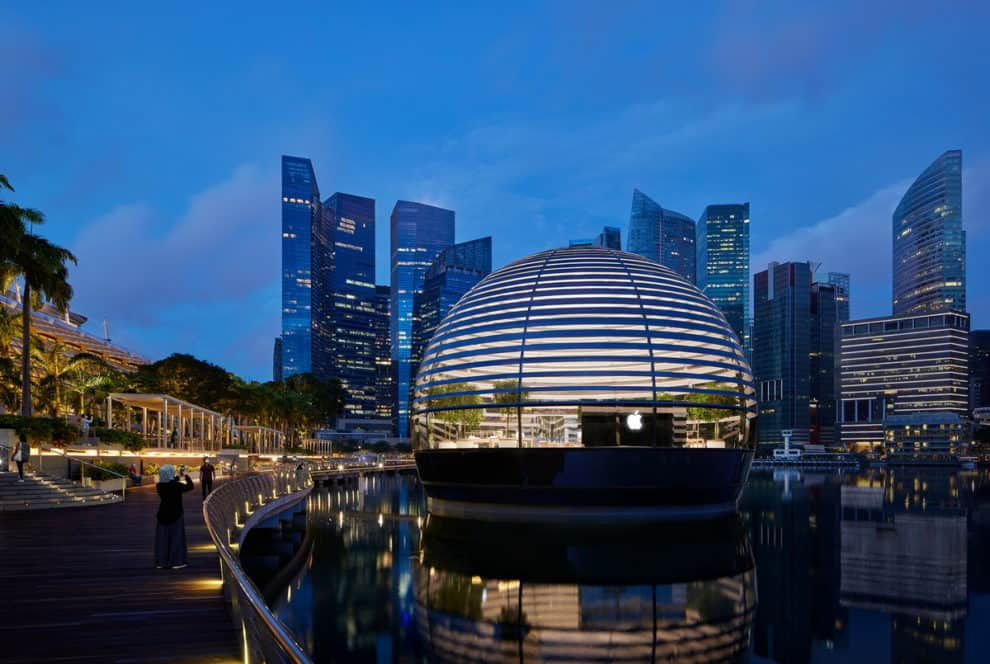 Apple singapore store