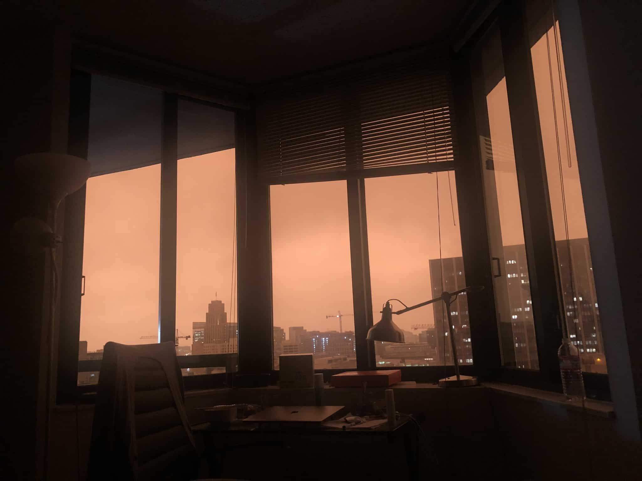 San Francisco bay area sky
