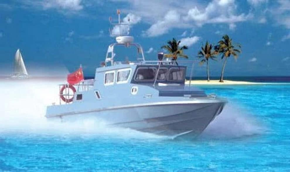Chinese PLA china india border patrol boats