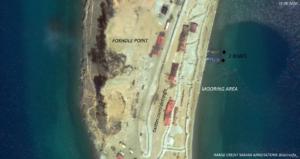 Chinese PLA assault patrol boats satellite images Pangong TSO
