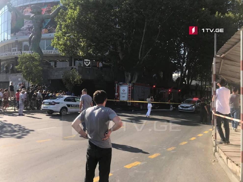Explosion blast tbilisi georgia