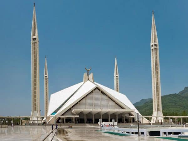 Top 10 Biggest Mosques In The World: Faisal Mosque