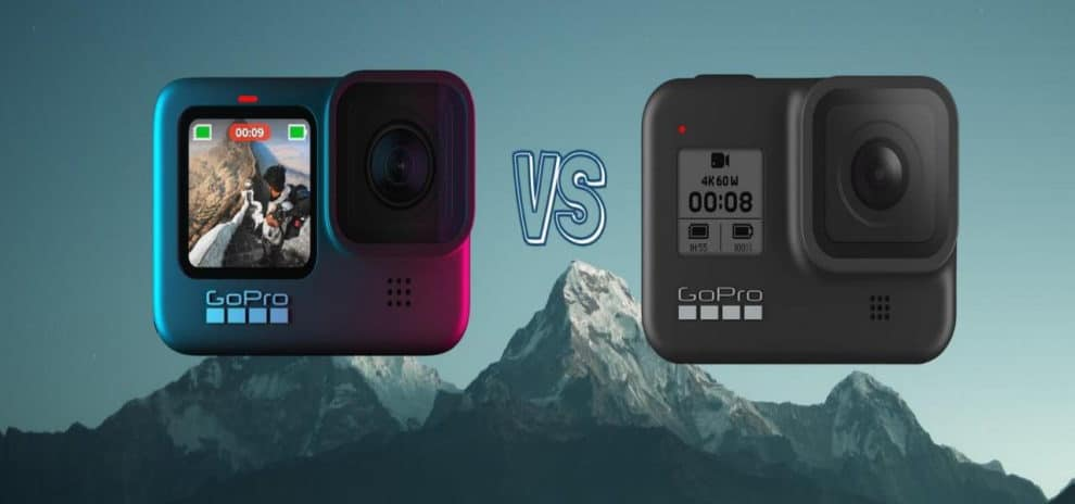 GoPro Hero 9 vs GoPro Hero 8