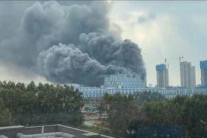 video huawei research fire Dongguan China