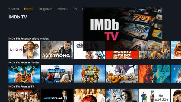 Top 10 Netflix Alternatives: IMDb TV