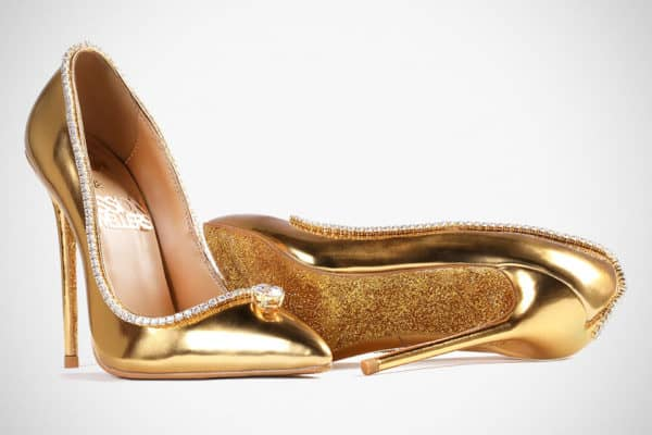 Top 10 Most Expensive Shoes In The World: Passion Diamond Shoes