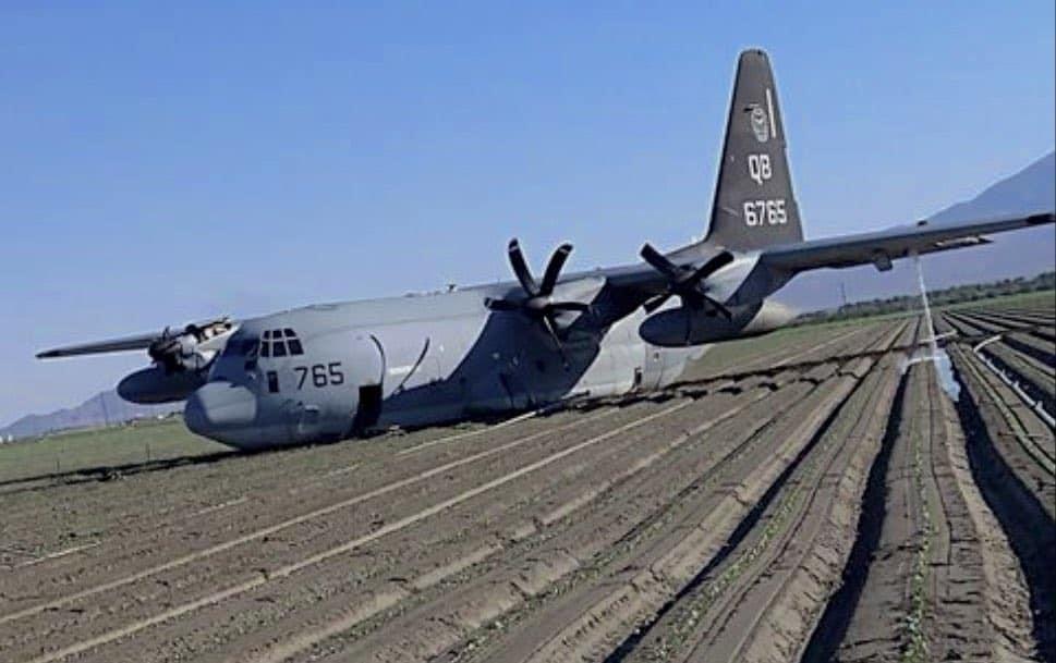 KC-130J crash photo