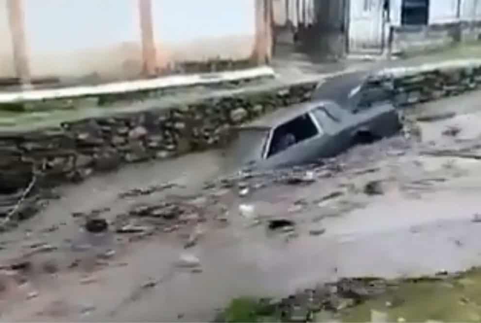 El Limón river Maracay Venezuela Flood River