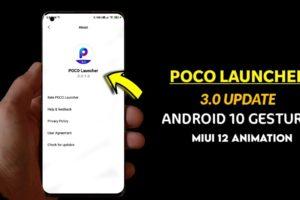Poco Launcher 3.0 MIUI 12