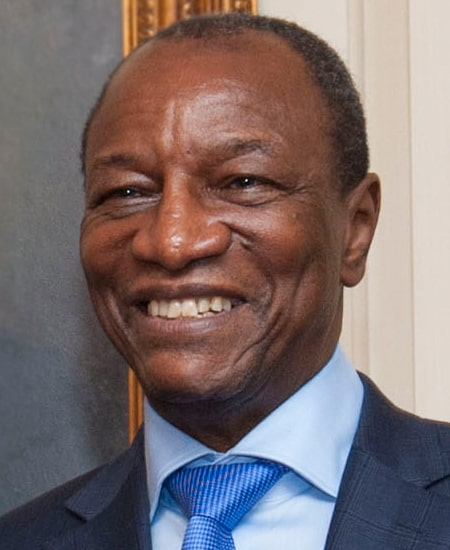 Present of Guinea Alpha Conde