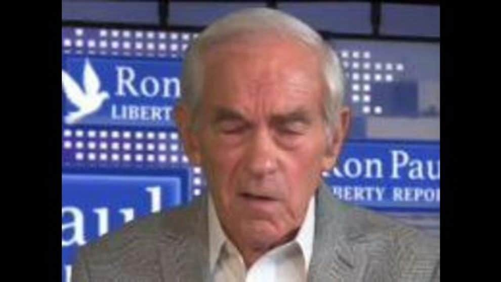 Ron Paul stroke livestream video