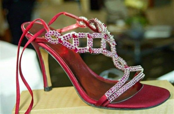 Ruby Stilettos