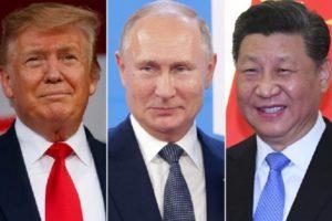 Trump Putin Xi UNGA speech