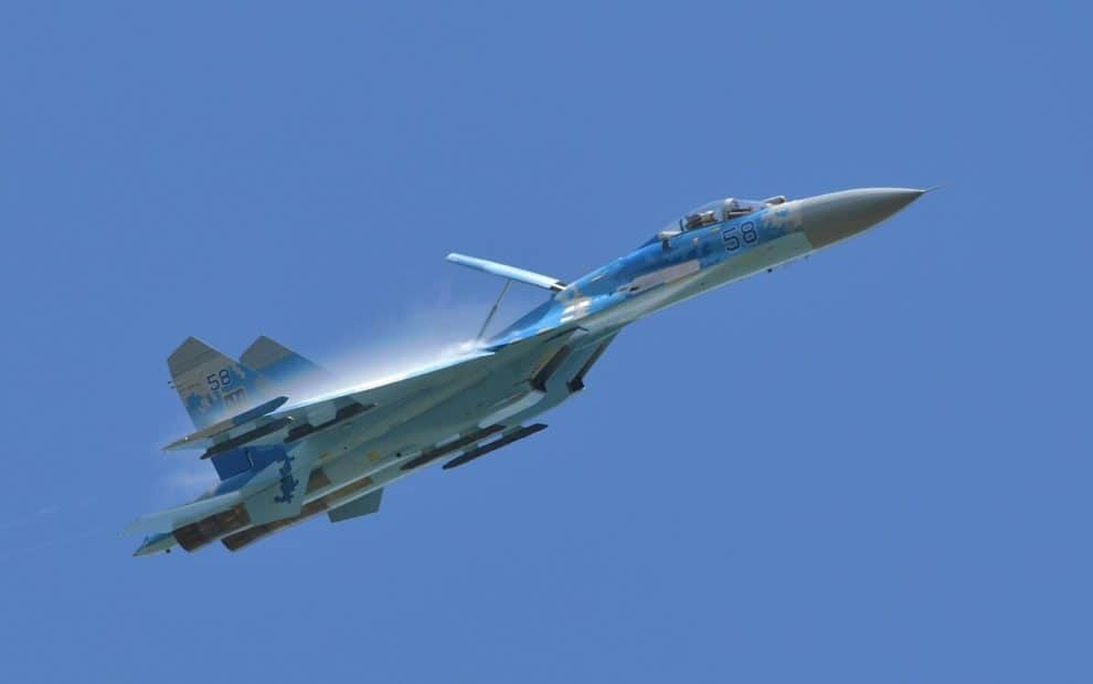 Chinese Air Force Jet SU-35 Shot Down by Taiwan