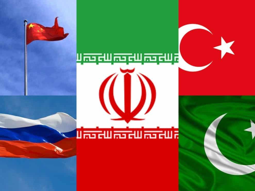 Russia China Pakistan Iran Turkey alliance