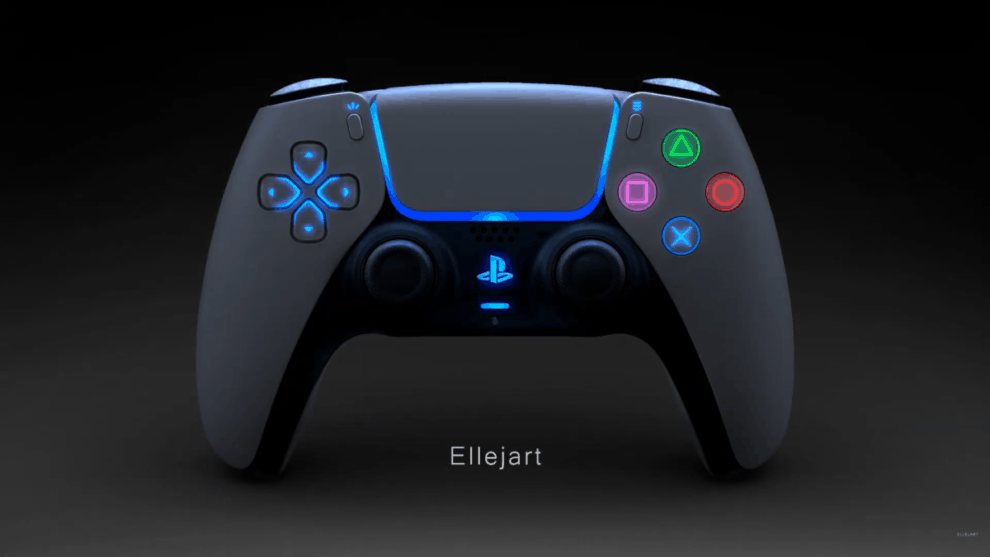 PS5 DualSense Night Mode