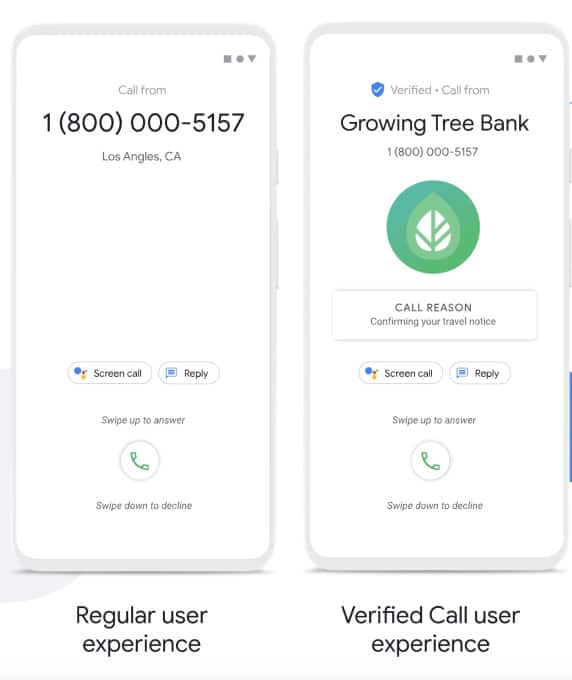 Google Phone App To Get A New Feature, Called 'Verified Calls'