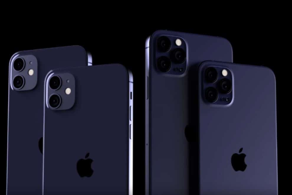 iPhone 12 Pro Colors Red And Navy Blue