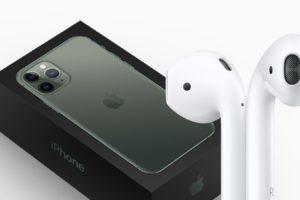 iPhone 12 Box Headphones